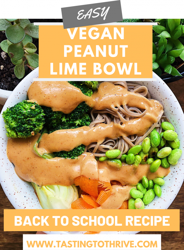 peanut lime bowl