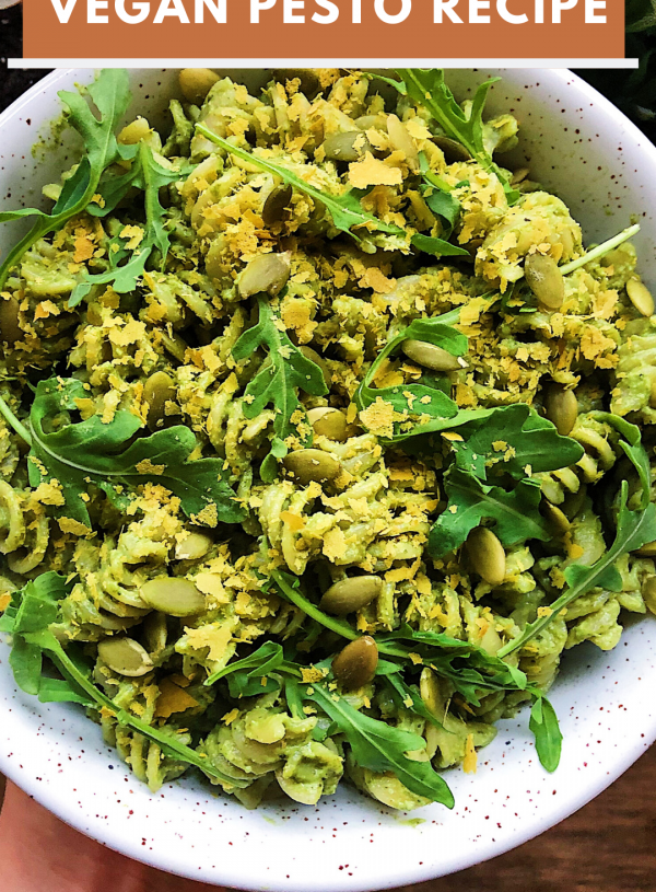 Easy Vegan Pesto Recipe