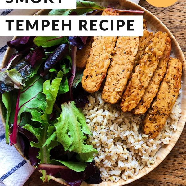 Easy smoky tempeh recipe
